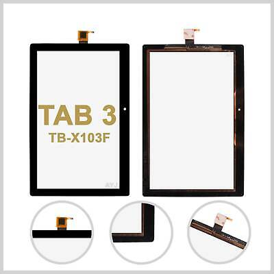Touch Screen Digitizer For Lenovo TAB 3 TB-X103F 10.1 Top Glass Front Lens Black • 14.45£