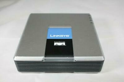 Linksys VoIP Phone Adapter With Router ( SPA2102 SPA2102    Linksys Used) WO PSU • 30£