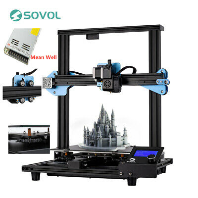 Sovol Sv01 3D Printer Direct Drive Extruder 240x280X300mm Meanwell Power Supply • 239£