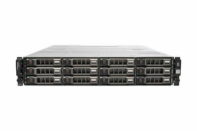 Dell PowerVault MD3200i 12x 12TB 3.5  HDD 2x 1Gbps ISCSI Controllers 2x 600W PSU • 6,792£