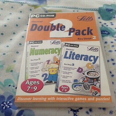 Numeracy & Literacy PC CD-ROM - Double Pack Ages 7-9 • 0.99£