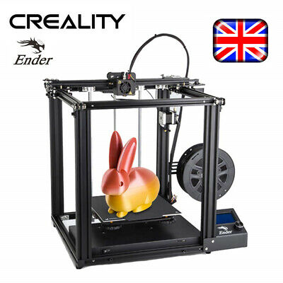 Brand New Offical Creality Ender 5 3D Printer Dual Y-axis 220X220X300mm DIY Kit • 316.99£