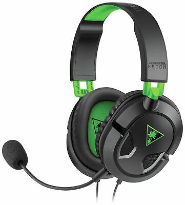 Turtle Beach Recon 50X Wired Gaming Headset For Xbox One/PS4 - Black • 14.99£