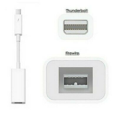 Genuine Apple Thunderbolt To FireWire Adapter For MacBook (A1463)  Fast Delivery • 49.99£