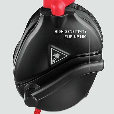 Turtle Beach Recon 70N Switch, Xbox, PS4, PC Wired Headset - Black/Red • 29.99£