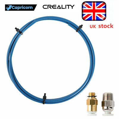 Capricorn XS High Quality PTFE Bowden Tube 1 Meter Upgrade CR10 Pro Ender 3 5 UK • 13.99£