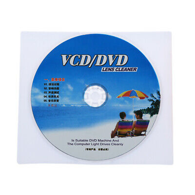 Vcd Dvd Player Lens Cleaner Dust Dirt Removal Cleaning Disc Restore Kit Cheerful • 4.67£