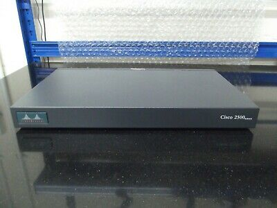 Cisco 2523 ISDN, Serial, Token Ring/10-Port Serial/ISDN  Router • 36£