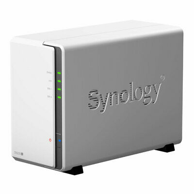 Synology DS220j 2 Bay Desktop NAS Enclosure • 169.51£