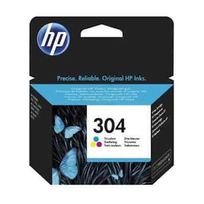 Genuine HP 304 Colour Ink Cartridge Pack For HP Envy 5030 Envy 5020 • 20.90£