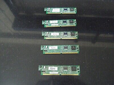 5 X Cisco PVDM2-16   16 Channel Packet/Voice DSP Module  • 35£