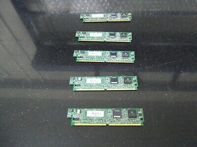 5 X Cisco PVDM2-32   32 Channel Packet/Voice DSP Module  • 45£