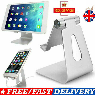 Adjustable Desk Table Stand Holder Tool For Mini IPad Tablet Phone Light UK HOT • 8.49£