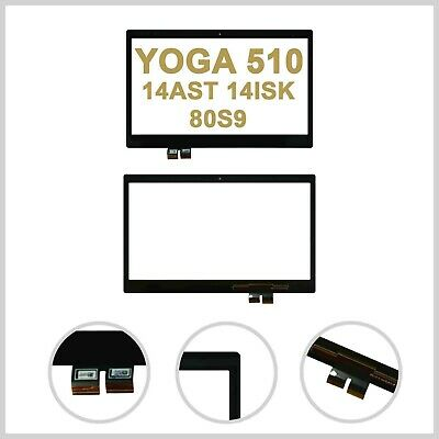 For Lenovo YOGA 510-14AST 510-14ISK 80S9 Touch Screen Digitizer Front Glass Lens • 39.99£