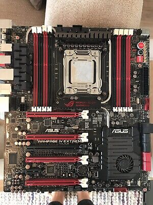 SPARES Or REPAIRS ASUS RAMPAGE IV EXTREME Intel X79 LGA2011 DDR3 Motherboard  • 74.99£