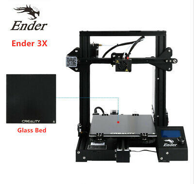 Official Creality Ender 3 3D Printer 220X220X250mm + Free Glass Bed UK Stock New • 209.99£