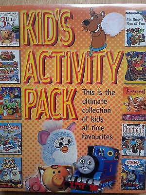 Bnwt Kids Activity Pack Cd Rom Selection • 2.55£