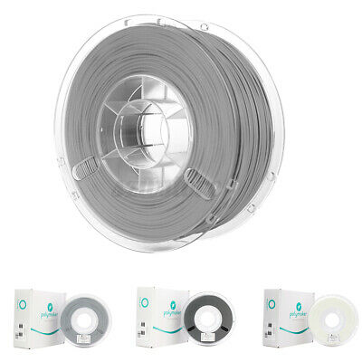 PolyLite Polymaker 1.75mm PLA 750g/Roll 3D Printer Filament Black White Grey • 12.99£