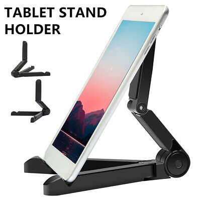 Mount Stand Folding Adjustable Desk Holder For Phone Galaxy Tablet IPad Air 🔥.. • 3.79£