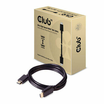 2M Club 3D CAC-1372 HDMI 2.1 Ultra High Speed Cable, 10K @ 120Hz  DSC 1.2        • 25.20£