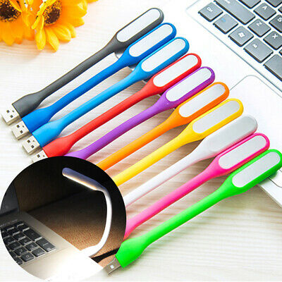 5 PCS Flexible Bright Mini USB LED Light Lamp For Notebook Laptop Desk Reading • 4.79£