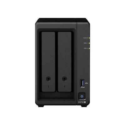 (Open Box) Synology DS720+ 2-Bay Desktop NAS (Network-Attached Storage) • 428.49£