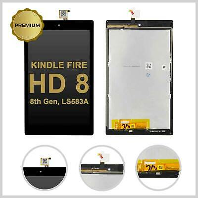 For Amazon KINDLE FIRE HD 8 8th Gen Lcd Display Touch Screen Digitizer Assembly • 29.99£