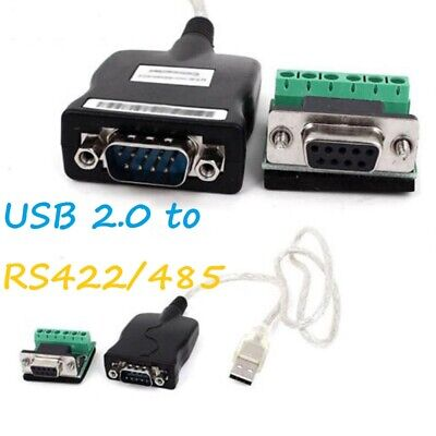 New USB 2.0 To RS-485 RS-422 DB9 Serial Converter Adapter Cable • 7.49£