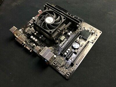 ASRock FM2 Motherboard + AMD A4-6300 APU + 2x4GB DDR3 RAM Bundle • 44.99£