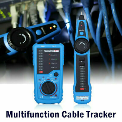 Cable Tester Wire Tracker Network Telephone Line Tracer Toner Lan Phone RJ11/45 • 16.99£