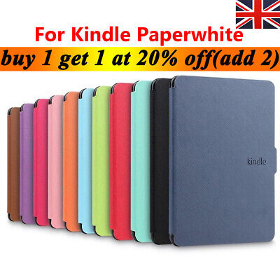 Smart Leather Flip Magnetic Cover Case For Amazon Kindle Paperwhite 2018 UK • 5.48£