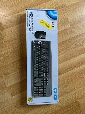 Onn Wireless Keyboard And Mouse Combo • 10£