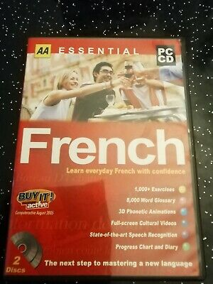 AA Essential French  Pc Cd Rom  2004 • 3£