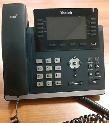 Yealink SIP-T46G Ultra-elegant Gigabit IP Phone • 41£