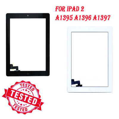 For IPad 2 A1395 A1396 A1397 Touch Screen Black White Digitizer Replacement IC • 8.99£