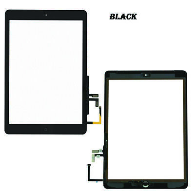For IPad 5 Air 1 A1474 A1475 A1476 Touch Screen Replacement Digitizer IC Black • 9.99£