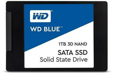 WD Blue 3D NAND 1TB 2.5  SSD 1TB Capacity SATA III Interface 2.5  Form Factor • 98.11£