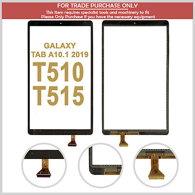 Digitizer Touch Screen For Samsung Galaxy Tab A 10.1 2019  T510 T515 Glass Lens • 21.99£