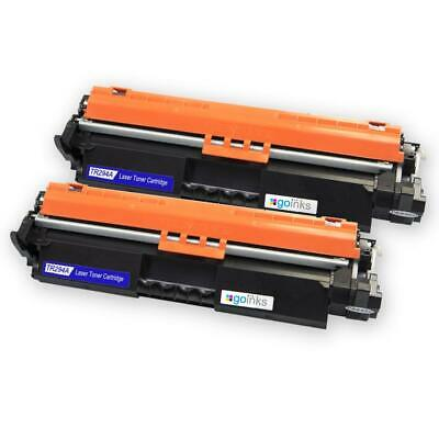2 Black Laser Toner Cartridges For HP LaserJet Pro M118dw, M148dw, M148fdw • 15.95£