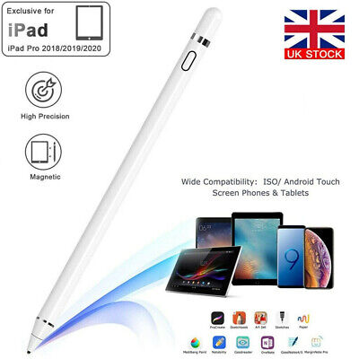 Pencil Pen For Apple IPad 6th/7th/Mini 5th Gen/Pro 11&12.9/Air 3rd Gen Stylus • 11.99£