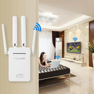 WiFi Range Extender Repeater Wireless Amplifier Router Signal Booster Gigabit • 9.99£