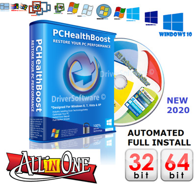2020 Windows PC Drivers Recovery/Restore/Repair/Install For Win XP/Vista/7/8/10 • 2.49£