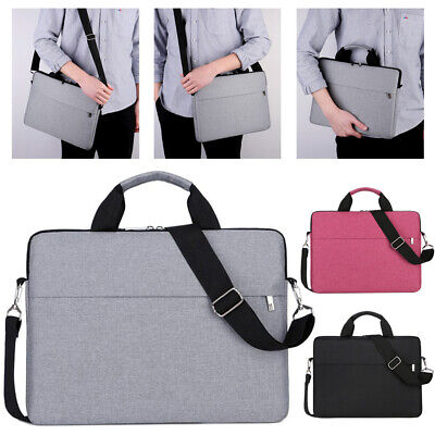 15.6 Inch Laptop PC Waterproof Shoulder Bag Carrying Soft Notebook Case Cover UK • 10.99£
