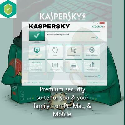 Kaspersky Internet Security 2020 For 1pc/mac/android 1year Global Version • 3.59£
