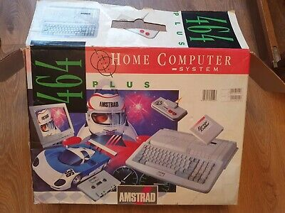 Amstrad Cpc 464 Plus Vintage Computer And Games. • 56£