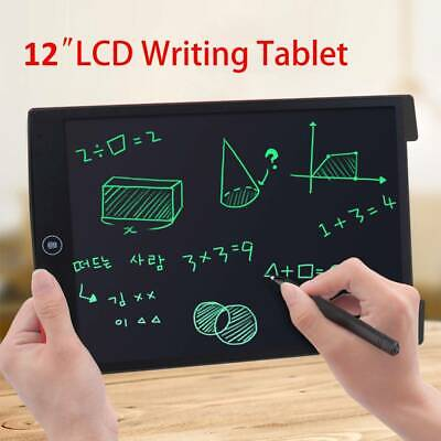 12  Electronic Digital LCD Writing Pad Tablet Drawing Graphics Board Graphic Kid • 7.99£