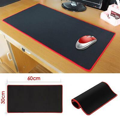 60CM X 30CM EXTRA LARGE XL GAMING MOUSE PAD MAT FOR PC LAPTOP MACBOOK ANTI-SLIP • 4.19£