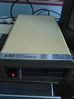 Atari 1050 Disk Drive With ICD US Doubler Chip Fitted TESTED  & WORKING • 100£