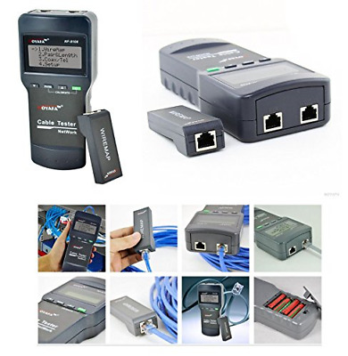 Professional Network Cable Tester - Diagnoses And Locates The Error / New : 2011 • 62.33£