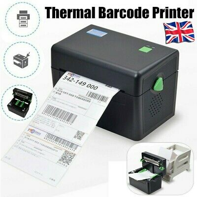 UK XP-DT108B Portable Direct Thermal Label Barcode 127mm/s High Speed Printer • 55£